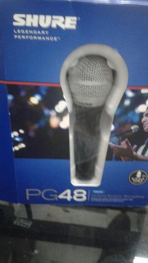 Microfono Profesional Shure Pg 48
