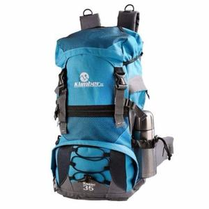 Morral Camping 35 Litros Con Forro Impermeable.