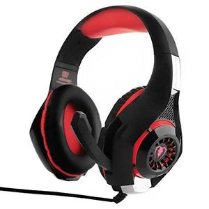 Obest Gaming Headset, Gm-1 3.5mm Led Light Auriculares Con