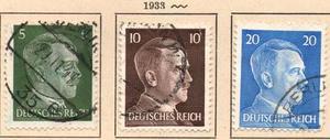 Alemania Estampillas Del Tercer Reich
