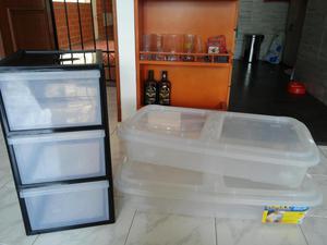 Cajas plásticas organizadores