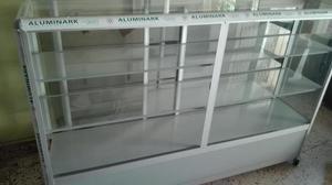 Oferta Vitrina Fina Aluminio Nueva