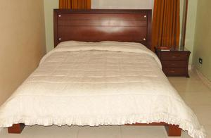 cama doble INCLUYE BUEN COLCHÓN