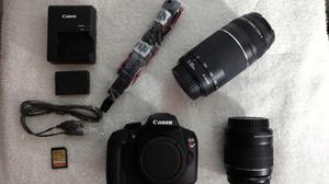 Camara Canon EOS T6 Rebel KIT