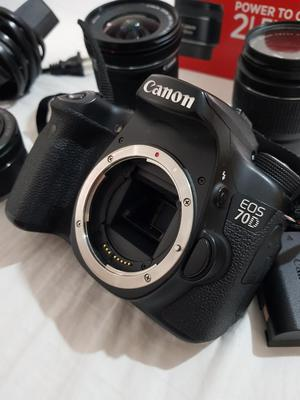 Canon 70d Ddslr con Lente