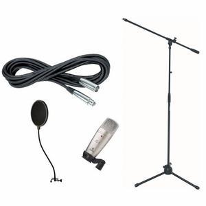Combo Microfono Condensador Behringer Grabacion C3 Multi