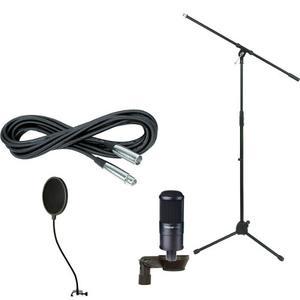 Combo Microfono Condensador Grabacion Takstar Sm8b Envio