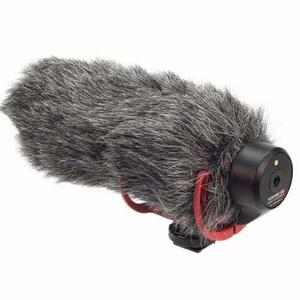 Filtro De Viento Microfono Camara Rode Cat Peluche