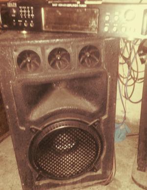 Ganga Equipo de Sonido Full