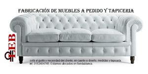 Tapicería y reparación de muebles en general garantizados