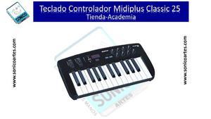 Teclado Controlador Midi Midiplus Classic 25 Teclas Usb