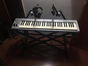 Teclado Midi Keystation M-audio 61