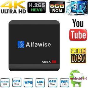 Tv Box Alfawise A95x R1 Android 6.0 Rkk Hd Kodi 17.4