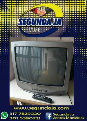 Vendo televisor SAMSUNG convencional pantalla de 21 con su