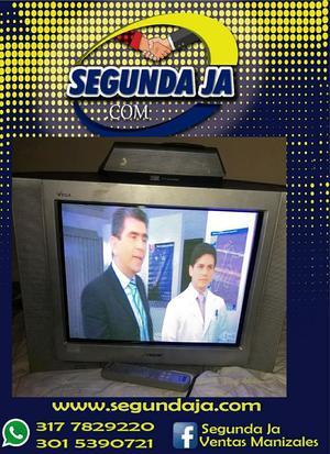Vendo televisor SONY convencional pantalla de 21 con su