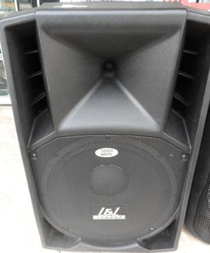 parlante amplificado con radio y bluetooth L y L sound