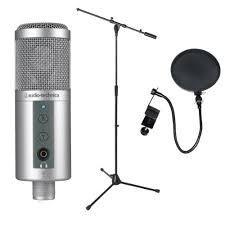 vendo micrófono de grabación profesional audiotechica at