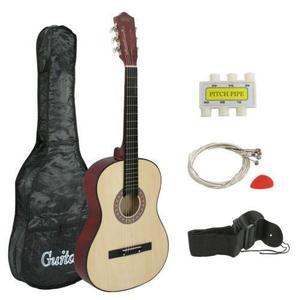 38 Principiantes Guitarra Acústica W/case, Correa, Turner,