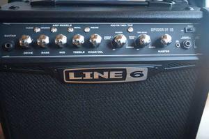 Amplificador De Guitarra Line 6 Spider Iv 15wats -como Nuevo