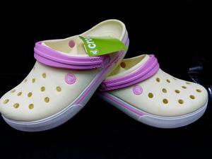 Crocs Band 2.5 Clog Crema Mujer Envio Gratis