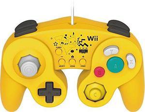 Hori Battle Pad Para La Versión Wii U Pikachu Con Turbo