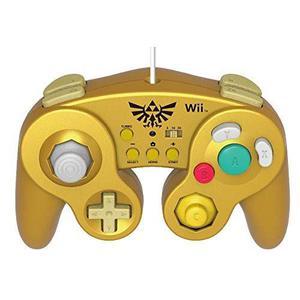 Hori Battle Pad Para Wii U (link Version) Con Turbo - Ninte