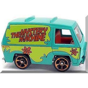 Hot Wheels Mystery Machine 1/64 Scooby Doo Camioneta Van