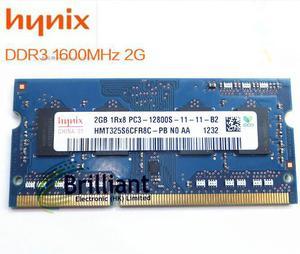MEMORIA RAM PC3 2GB PARA PORTATIL