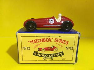 Antiguo Maserati 4cl  Matchbox Lesney Diecast Caja