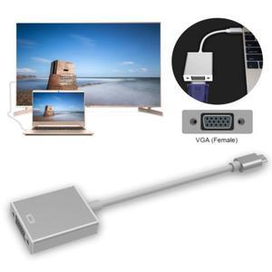 C Usb 3.1 Tipo C Para Vga Monitor Proyector Video