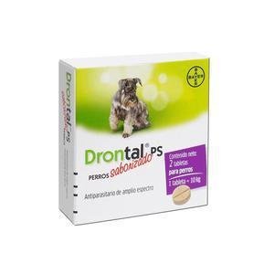 Drontal perros pequeños x 2 tabletas