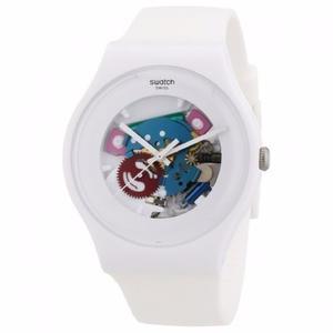 Reloj Swatch Modelo Suow 100 Resistente Al Agua Original