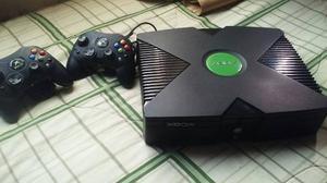 Xbox Clasico + 2 Controles + 15 Juegos + Emuladores
