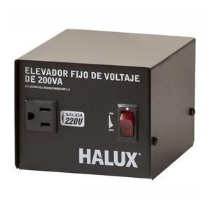 Elevador Fijo Voltaje 200VA 110VAC220VAC Halux 100