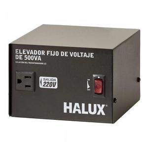 Elevador Fijo Voltaje 500VA 110VAC220VAC Halux 100