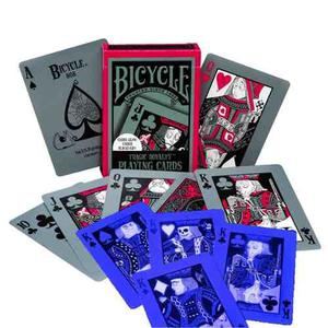 ¡ Cartas Bicycle Tragic Royalty Baraja Poker Black Jack !!