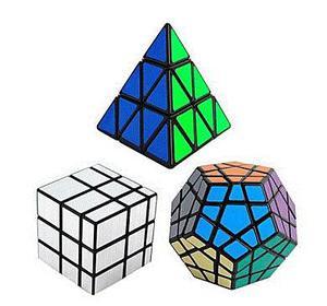 Cubos Rubik Shengshou Megaminx, Espejo Y Pyraminx + Obsequio