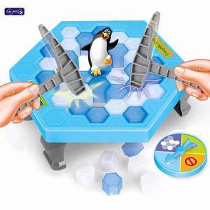 Juego De Mesa Trampa Pingüino En Hielo Diversión Familiar
