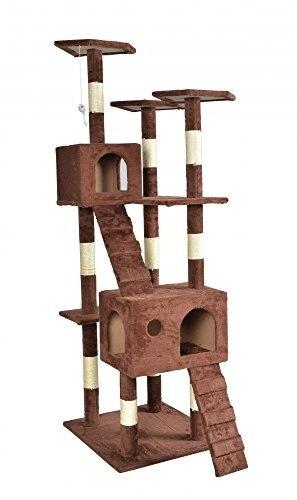 Nuevo 73 \ Gato Árbol Rascador Play House Condo Muebles