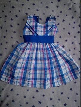 Vestido De Niña De 12 A 18 Meses Como Nuevo!