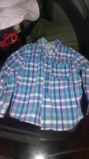 Camisas para Ñino Talla 2