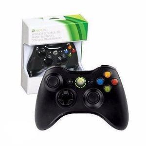 Control Inalambrico Xbox 360 Negro-envio Gratis
