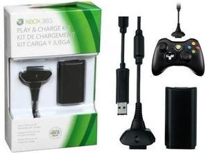 Kit Carga Y Juega Para Xbox 360 Garantizado