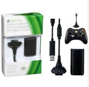 Kit Carga Y Juega Para Xbox  Ni-mh Codigo: C-x360