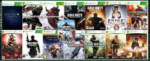 Lote De 15 Juegos Xbox 360 Digital