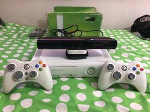 Xbox 360 Placa Jasper 3.0+discoduro+kinect+controles+juegos