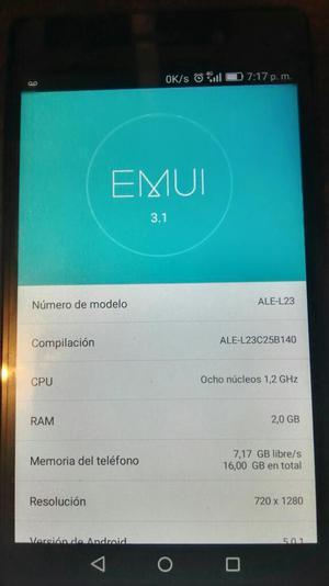 Vendo O Cambio Huawei P 8 Lite