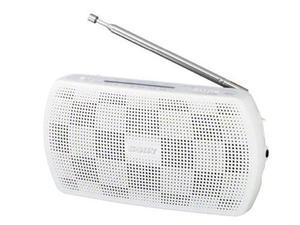 Blanco Sony Radio Portátil Estéreo Srf-18 / W