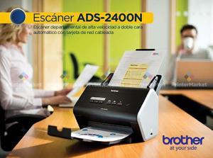 Escáner Brother Ads-n Alta Velocidad-doble Cara Red