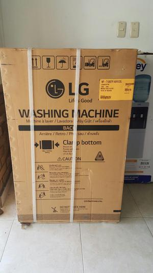 Lavadora Lg 26 Libras, Digital, Garantia